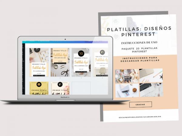 Plantillas Pinterest Producto