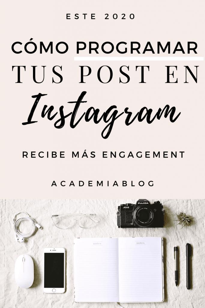Aprende como programar tus post de instagram con tailwind app y gana más seguidores #academiablog #instagram #instagramtips
