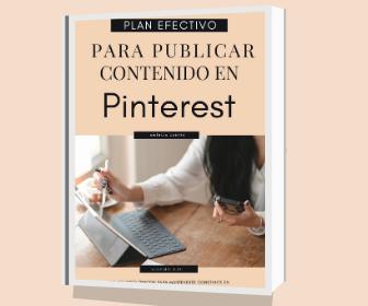 Plan Efectivo para publicar contenido mensual Pinterest
