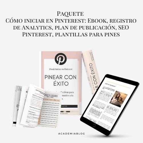 paquete Pinterest