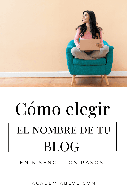 como elegir el nombre de tu blog